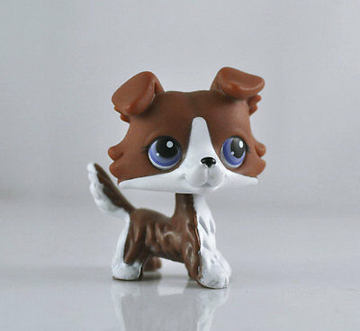 Collie Dog Littlest Pet Child Girl Figure Toy Loose Cute Xmas LPS09