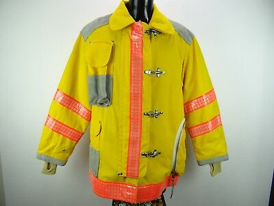 Firefighter Turnout Coat Janesville Nomex Clark County Fire Dept Size 46--35