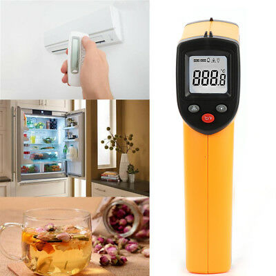 Handheld LCD Digital Laser Thermometer Temperature Gun Infrared Non-Contact New