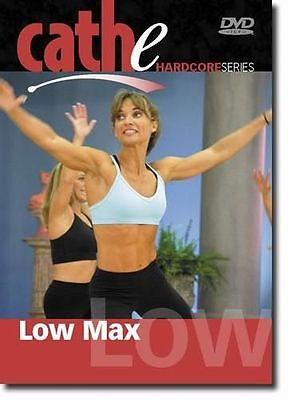 Step Aerobics EXERCISE DVD - CATHE FRIEDRICH Low Max Low Impact Step