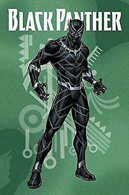 Black Panther Adventures Digest by Joe Caramagna Paperback Book Free Shipping!