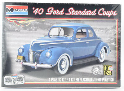 Revell Monogram 1940 Ford Standard Coupe 1/25 Plastic Model Car Kit 85-4371