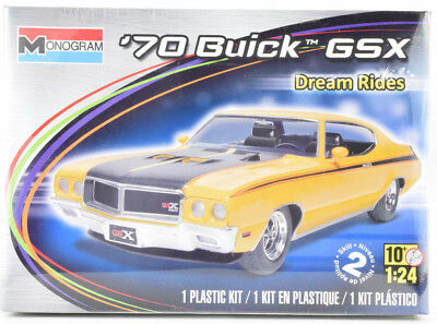 "Revell ""Dream Rides"" 1970 Buick GSX 1/24 Plastic Model Car Kit 85-4030"