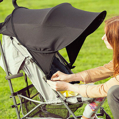 Sun Canopy Ray Shade UPF50+ for Buggy/Stroller Fashion Kids Baby Protectiv UKPL
