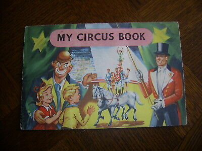 JACK and JILL COMIC Free Gift MY CIRCUS BOOK sticker album complete early 1960's