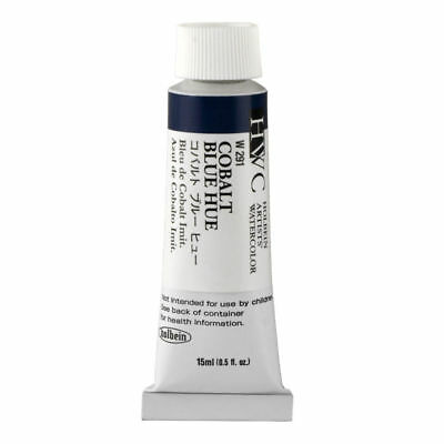 HOLBEIN ARTISTS COLORS ARTISTS WATERCOLOR 15ML Cobalt Blue Hue HBW291 NEW