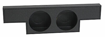 "Dual 10"" Ported Subwoofer Sub Box Enclosure for 2004-2006 GMC/Chevy Crew Cab"