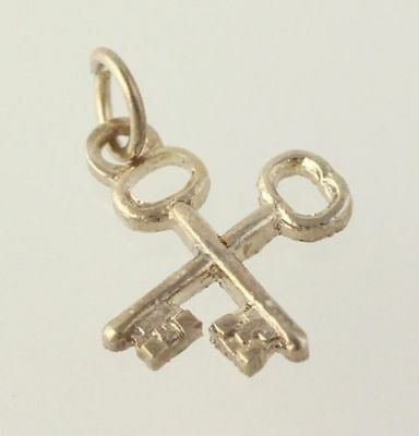Order of the Eastern Star - Treasurer Key Charm Guard OES Masonic New Old Stock