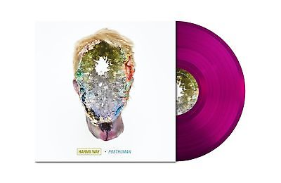 HARMS WAY Posthuman TRANSPARENT VIOLET Vinyl LP [Ltd 200]