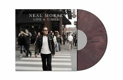 "NEAL MORSE - Life And Times ""AUBERGINE"" MARBLED Vinyl LP [Ltd 200]"
