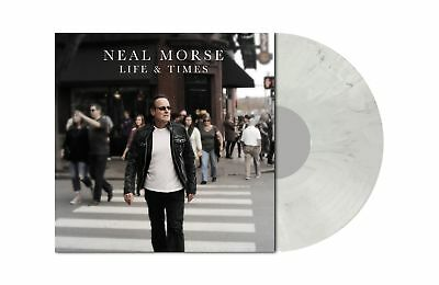 NEAL MORSE - Life And Times LIGHT GREY MARBLED Vinyl LP [Ltd 200]