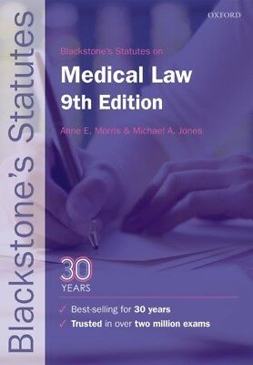 MEDICAL LAW, Morris, Anne E. (Honorary Senior Research Fellow in ...