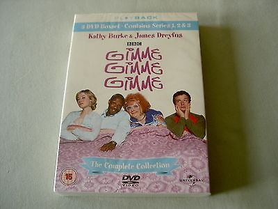 GIMME GIMME GIMME The Complete Collection: Series 1-3 new sealed BBC 3-DVD