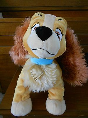 Plush Disney Store Lady From Lady & The Tramp 11 1/2""