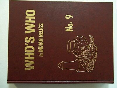 "New, Unused First Edition Copy Of ""who's Who In Indian Relics"" No. 9 (1996)"
