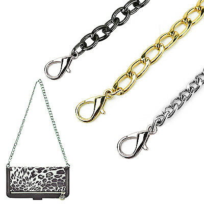 Gold Silver Metal Replacement Chain for Fashion Wallet Purse Travel Bag Clutch
