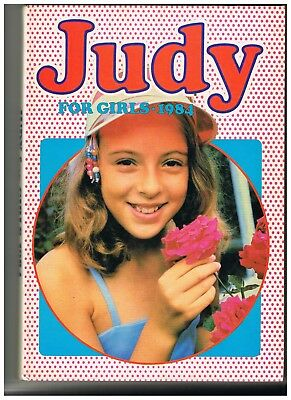 Vintage 1984 Judy For Girls: Excellent Condition Comic Strips Games Articles Etc