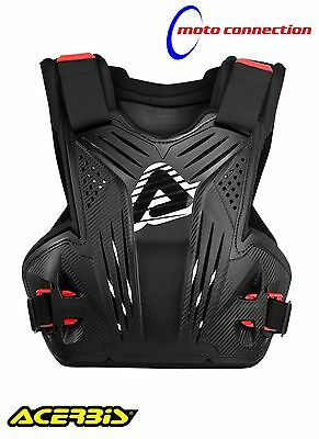 Acerbis Impact Mx Chest Protector / Back Protector Body Armour  Black Adult