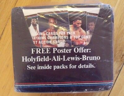 RingLords Ring Lords Boxing Trading Cards Card Full Box Sealed New