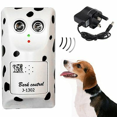 Ultrasonic Deterrent Bark Stopper Anti No Bark Stop Dog Barking Control Device