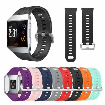 For Fitbit Ionic Wristband Band Strap Bracelet with Metal Buckle Replacement