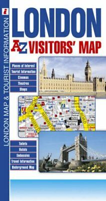 London Visitors' Map by Geographers A-Z Map Company Sheet map, folded Book The