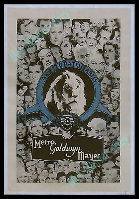 #1 Rarest Mgm Movie Poster ☆ Garbo ☆ Harlow ☆ Laurel & Hardy ☆ Gable ☆ Barrymore