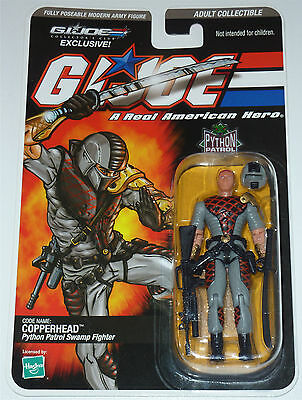 G.i.joe 2009 Python Copperhead Moc Neu & Ovp Gi Joe Cobra Club Exclusive