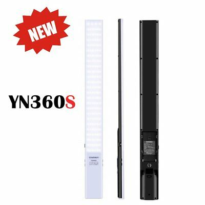 2018 NEW YONGNUO YN360-S Ultra-Thin 3200-5500K Handheld Pro LED Video Light US
