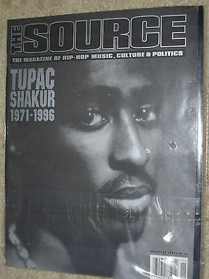 The Source Magazine - November 1996 ~ Tupac Shakur 1971-1996 ~ FREE SHIPPING  rh