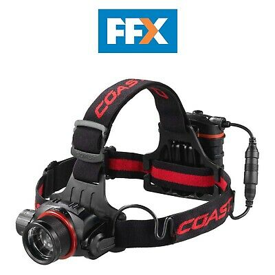 Coast HL8CLAM HL8 Head Torch with Varied Light Output Pure Beam Focus