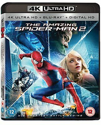 The Amazing Spider-Man 2 [4K Ultra HD] [Blu-ray] [2014] [Region F... - DVD  Z8VG