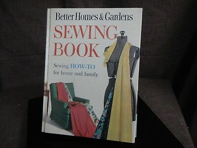 1961 Better Homes & Gardens SEWING BOOK How to Guide