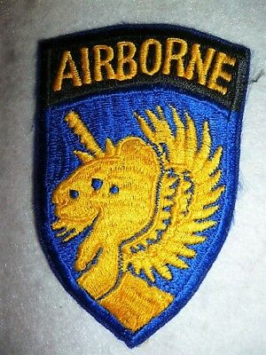 US Army WW2 - Original 13th Airborne Division Patch / Paratrooper Patch