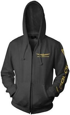 Honda Collection Gold Wing Zip Hoody Black X-Large