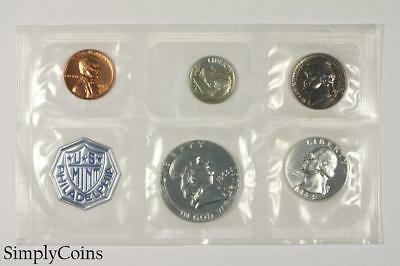 1963 Proof Set ~ NO ENVELOPE ~ US Mint Silver Coin Lot SKU-1178