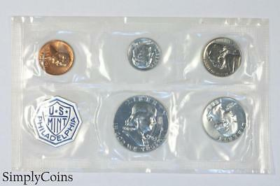 1963 Proof Set ~ NO ENVELOPE ~ US Mint Silver Coin Lot SKU-1181