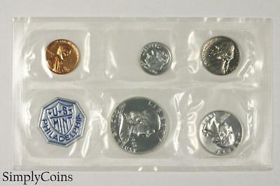 1963 Proof Set ~ NO ENVELOPE ~ US Mint Silver Coin Lot SKU-1170