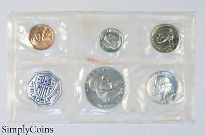 1963 Proof Set ~ NO ENVELOPE ~ US Mint Silver Coin Lot SKU-1179