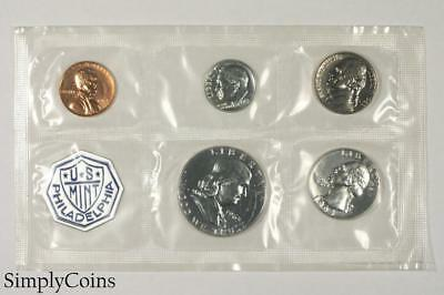1963 Proof Set ~ NO ENVELOPE ~ US Mint Silver Coin Lot SKU-1169