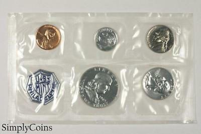 1963 Proof Set ~ NO ENVELOPE ~ US Mint Silver Coin Lot SKU-1171