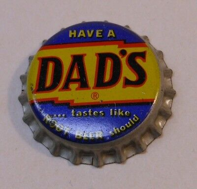 Vintage Dad's Root Beer..cork..unused..SODA BOTTLE CAP