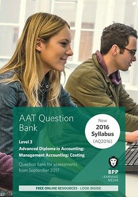 Aat Management Accounting Costing, BPP Learning Media, 9781509712595