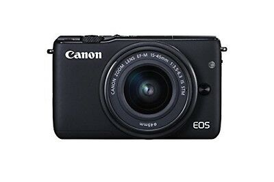 NEW Canon EOS M10 18MP Compact DLSR Digital Camera with 15-45mm Lens Kit +WTY