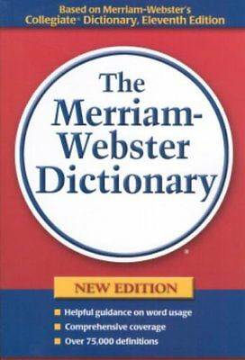 Merriam-Webster's Dictionary by Merriam-Webster Paperback Book The Cheap Fast