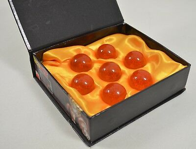 Dragon Ball Z Stars Crystal Balls Collection 7 Pc Set w/ Gift Box Small 4.3 cm