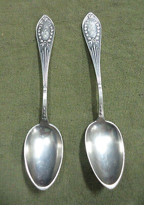 #s2. Two Old 0.875 Silver Spoons