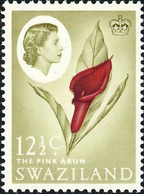 SWAZILAND - 1962 - SG99 12 1/2c The Pink Arum - Mint*