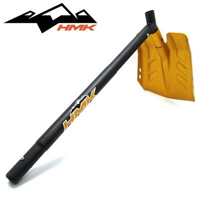 HMK Matrix Extendable Aluminum Snowmobile Shovel Hoe with Saw Orange HM3SHOVELMO