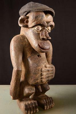 3848 Large Old Bulu Monkey Figure Cameroon Africa/Africa